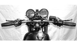 "Handlebar - Drag Bar Type - Chrome 7/8"" Photo"