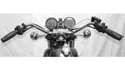 "Handlebar - XS1 XS2 Replica - Chrome 7/8"" Photo"