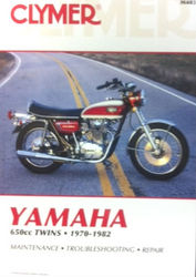 Clymer Manual Yamaha 650 Twins Photo