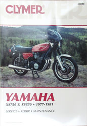 Clymer Manual Yamaha XS750 XS850 Photo