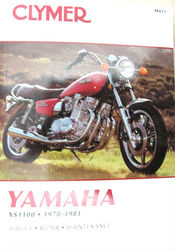 Clymer Manual Yamaha XS1100 Photo