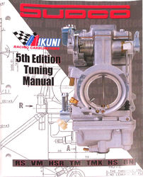 Mikuni Tuning Manual for motorcycle carburetors Photo