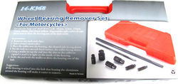 Wheel bearing remover set for motorcycles and more Photo