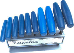 T Handle Hex Key Set Photo