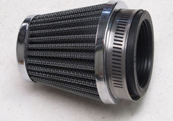 48mm clamp on air filter XS400 SE 1978-82 Photo