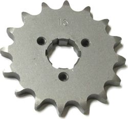 Front Sprocket - 16Tx530 Countershaft Sprocket, XS360, XS400, RD400 Photo