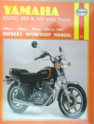 Haynes Manual XS250 XS360 XS400 Photo