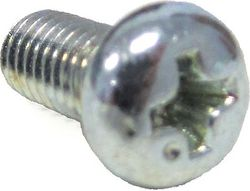 Chrome Plated Screw M5 x .8 x 2 Photo